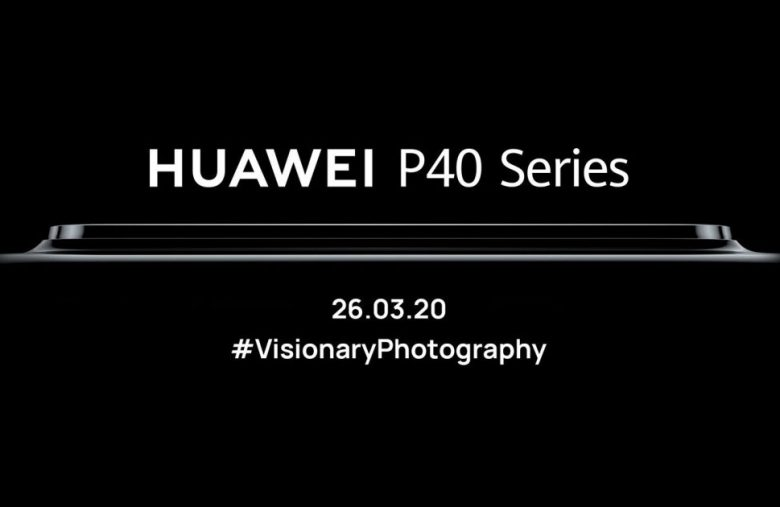 Huawei will livestream its P40 phone unveiling on March 26th