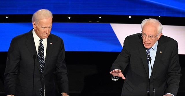 ***Live Updates*** Biden, Sanders Debate in Near-Empty DC Studio