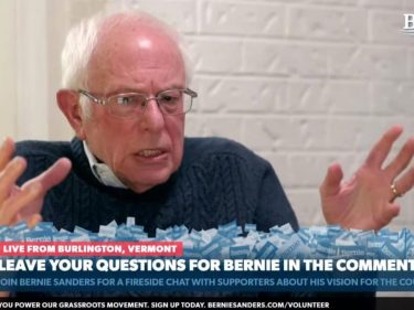 Forget Pokimane: Bernie Sanders Just Became a Breakout Twitch Star