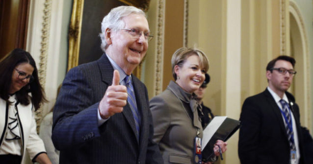 McConnell Introduces Rescue Package With $2400 Checks for Families, $500 For Kids