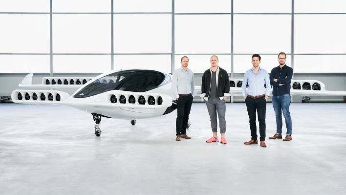 Lilium raises another $240M to design, test and and run an electric aircraft taxi service