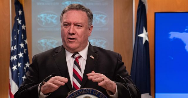 Pompeo: Chinese Communist Party Withholding Coronavirus Information