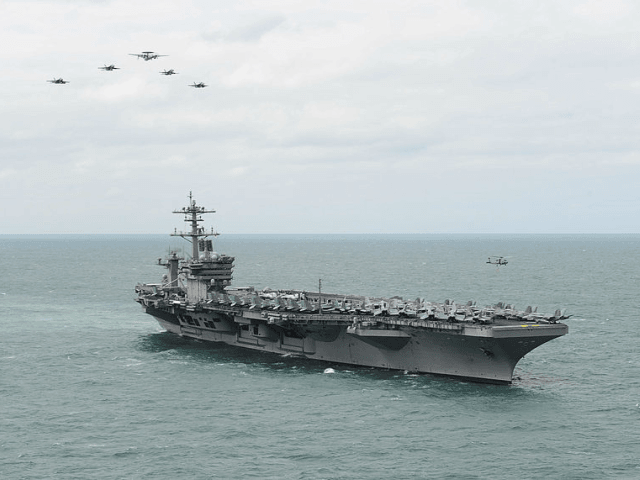 Three U.S. Sailors Test Positive for Coronavirus Aboard Aircraft Carrier