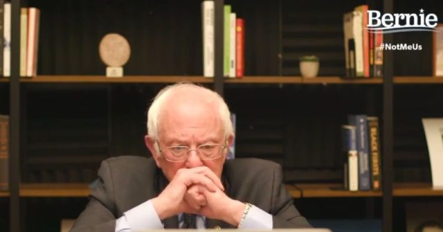 Don't Touch Your Face: Bernie Sanders Hosts Online Coronavirus Town Hall