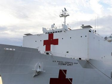 Donald Trump to Travel to Virginia to Send Off Medical Ship to New York