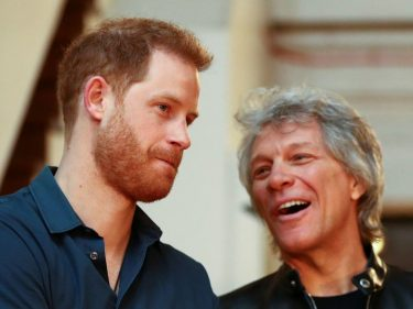 Bon Jovi's Prince Harry Collaboration Is a Desperate Cry for Relevance