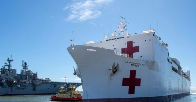 Trump Sends Off USNS Comfort as 'Message of Solidarity and Hope'