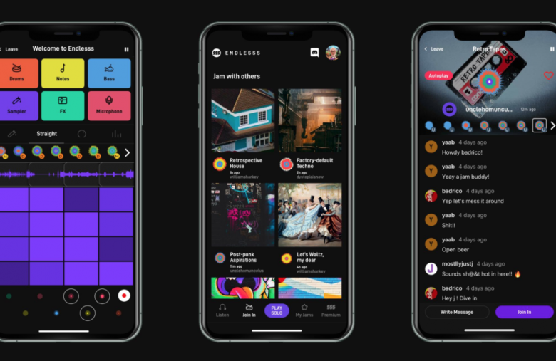 Endless is a simple, fun music collaboration app