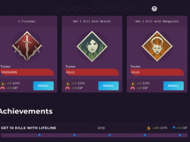 Zelos is like a cross-game battle pass, rewarding you for completing challenges in games you already play