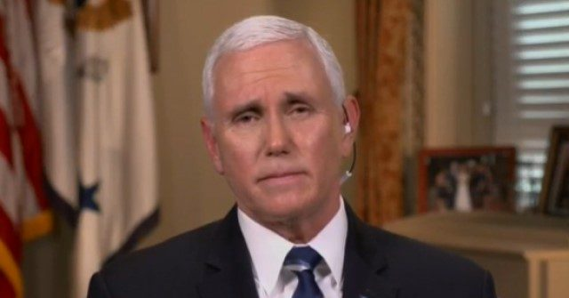 Pence: 'We Could Be in a Very Different Place' by End of the Month if We Follow Guidelines