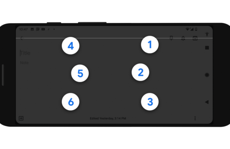 Google's new keyboard helps Android users type in braille