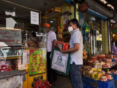 Covidmaps lets you find grocery stores and pharmacies in India
