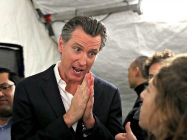 CA Democrat Gov Newsom to Bail Out Poor Illegal Immigrants