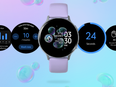 Samsung's new Galaxy Watch app reminds you to wash your damn hands, dummy