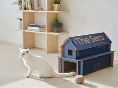 Samsung's new 'eco' TV packing transforms into cat houses, shelves and magazine racks