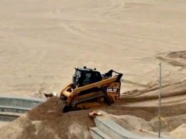 San Clemente Fills Skate Park with 37 Tons of Sand to Block Skaters