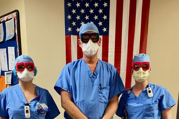 3D-printed glasses startup Fitz is making custom protective eyewear for healthcare workers