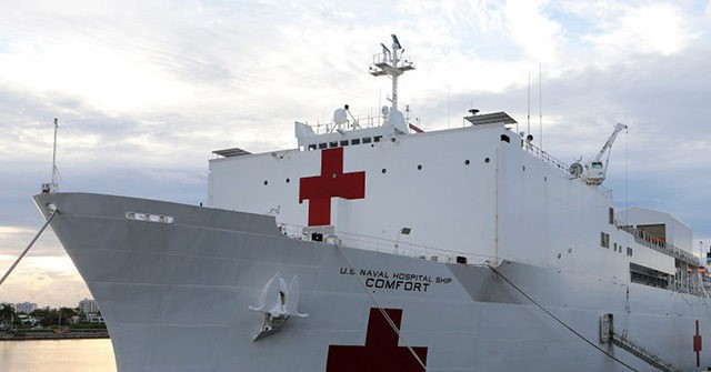 1,000-Bed Hospital Ship USNS Comfort to Leave New York City