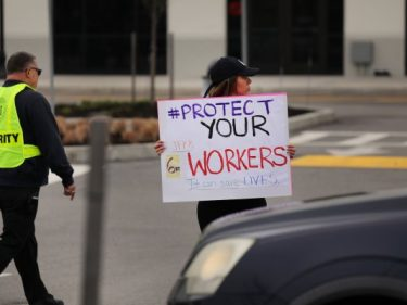 Workers prepare to strike May 1, amid strained pandemic working conditions