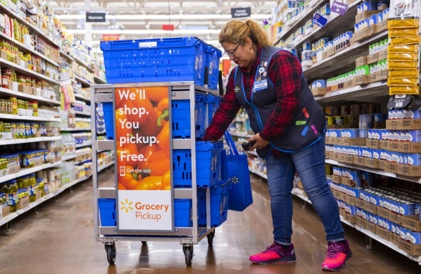 Walmart is piloting a pricier 2-hour 'Express' grocery delivery service