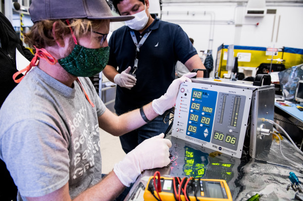 FDA authorizes a ventilator developed by NASA's JPL for emergency use in COVID-19 treatment