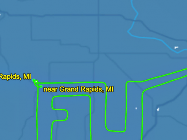 Michigan Pilot Gives an 'F U' Flyover to Democrat Gov. Whitmer