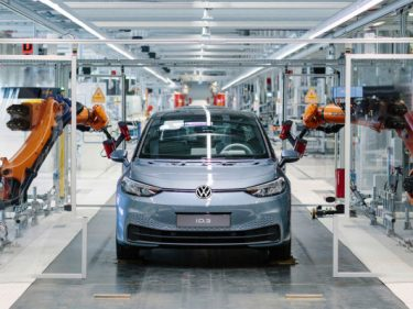 Volkswagen to start sales of first edition all-electric ID.3 hatchback in June