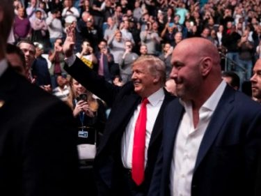 WATCH: Trump Praises UFC for Leading Sports Comeback: 'Let's Play'