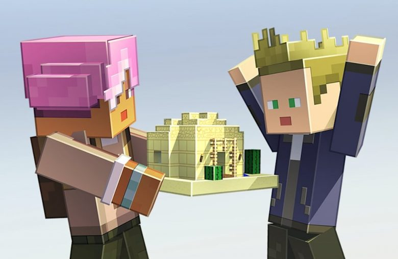 'Minecraft Earth' players can share their builds with just a web link