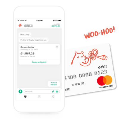 UK's ANNA raises $21M for its SMB-focused business account and tax app