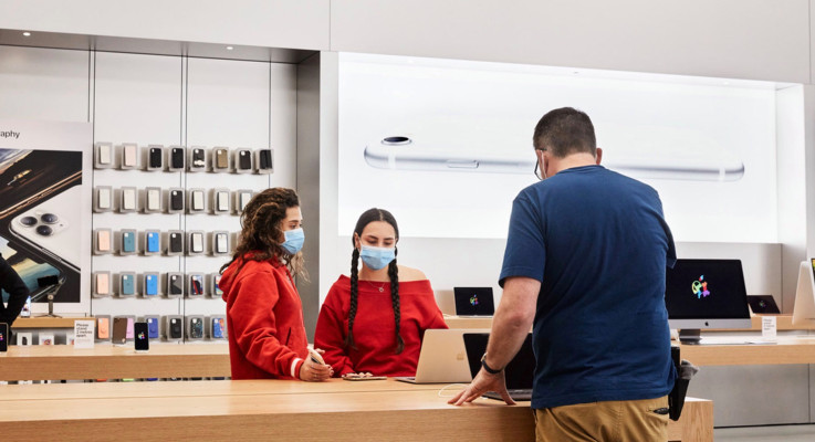 Apple begins reopening some stores with temperature checks and other safeguards in place