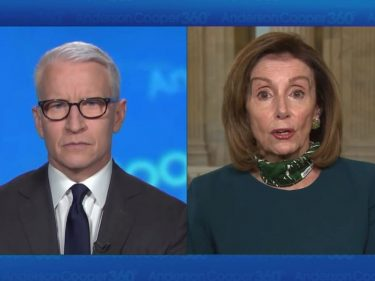 Pelosi's 'Morbidly Obese' Troll Was Nothing Next to Anderson Cooper's Reaction