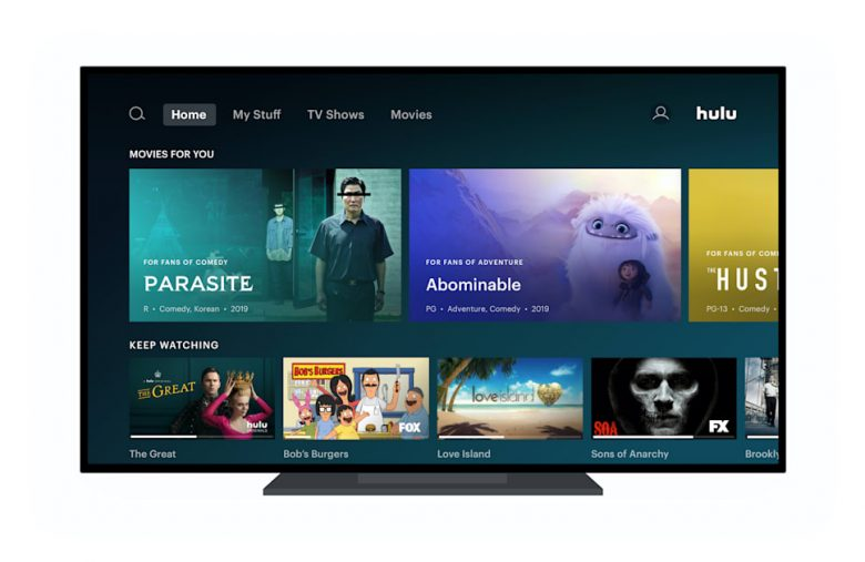Hulu is rolling out a new home screen to Apple TV and Roku users