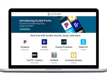 Scribd announces a perks program, giving its subscribers access to Pandora Plus, TuneIn Premium and more