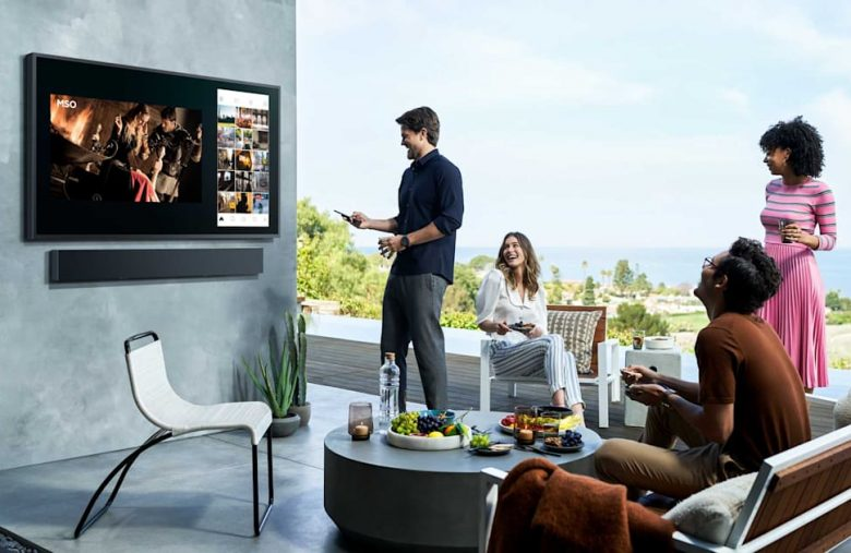 Samsung lets you enjoy nature with its 2,000-nit outdoor QLED TV