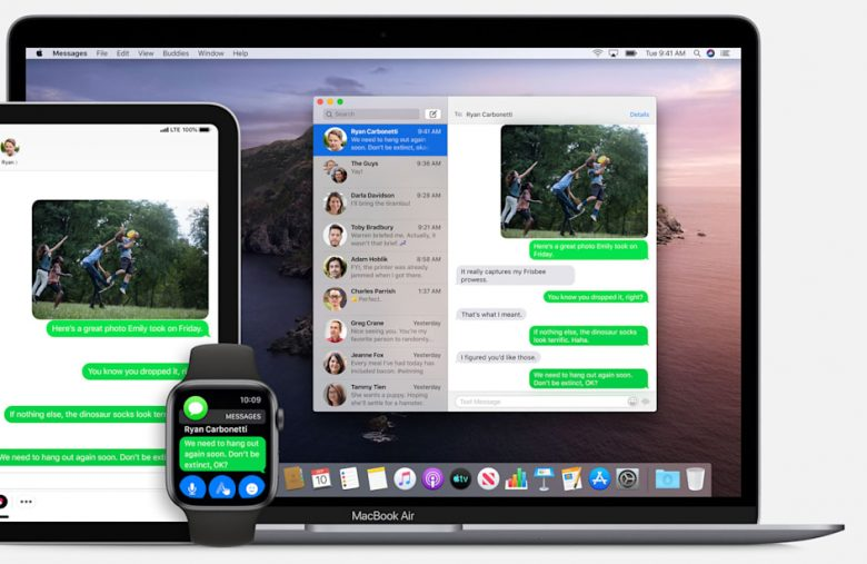 Messages on the Mac may finally catch up to its iOS counterpart