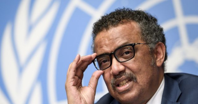 China Applauds W.H.O. Chief Tedros: He Has 'Done a Good Job'