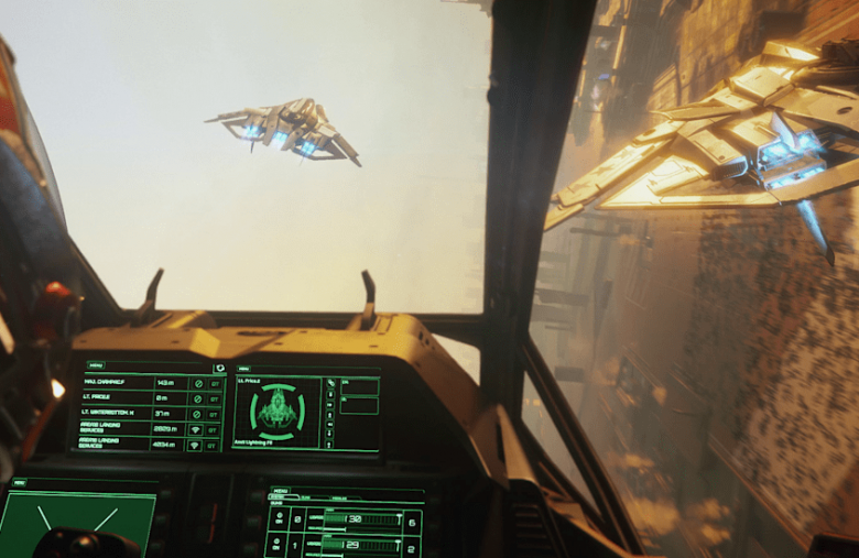 You can try crowdfunded space sim 'Star Citizen' for free right now