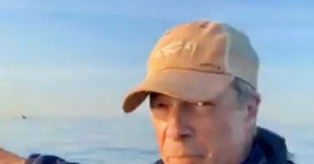 Farage Again Catches French Escorting Illegal Migrants Into UK Waters