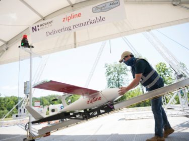 Zipline begins US medical delivery with UAV program honed in Africa