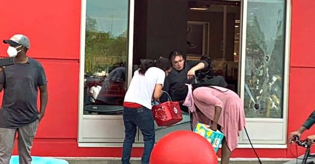 Reported Looters Steal from Target Store Amid Minneapolis Protests