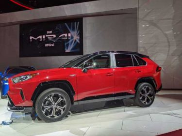 Toyota's first plug-in hybrid RAV4 Prime priced a skosh under $40,000