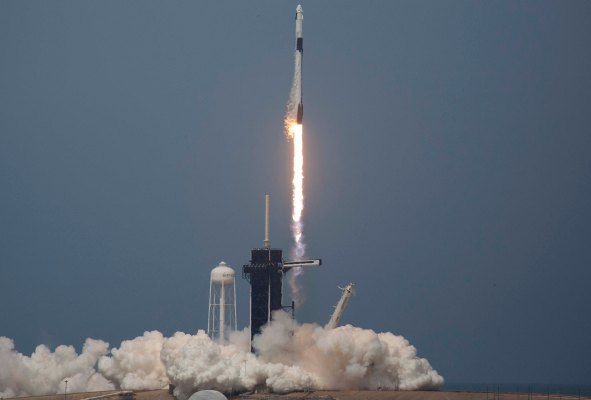 SpaceX makes history with successful first human space launch