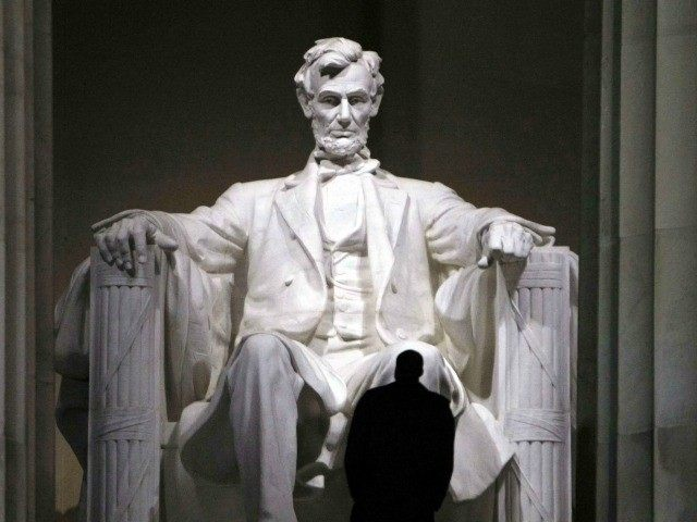 Protesters Graffiti Lincoln Memorial: 'Y'all Not Tired Yet?'