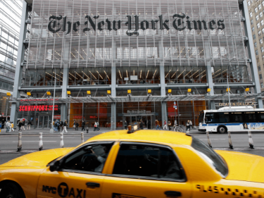 Editorial by Mob: NYT Leadership Loses Control over Its Newsroom