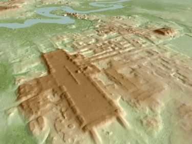 Lidar helps uncover an ancient, kilometer-long Mayan structure