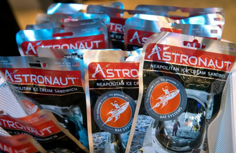 Hitting the books: The ancient technology behind astronaut ice cream