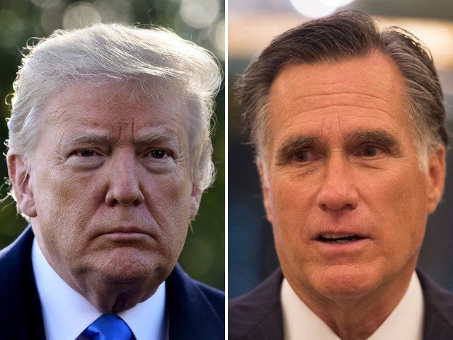 Donald Trump Mocks Mitt Romney for Marching with Black Lives Matter