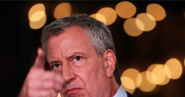 Mayor Bill de Blasio Vows to Cut NYPD Funding While Violent Crime Soars