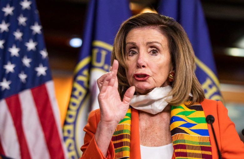 Nancy Pelosi's Kente Cloth Stunt Is the Most Boomer Move of BLM